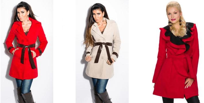 Paltoane de toamna pentru femei