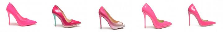 Pantofi dama stiletto fucsia