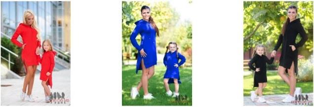 Rochii identice mama si fiica