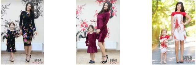 Rochii mama-copil identice