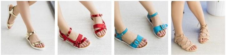 Sandale de vara romane