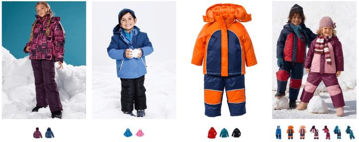 Costume geci ski si munte copii