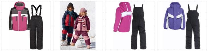 Costume ski copii mici